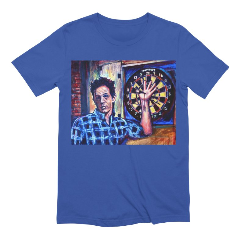 dart Men's Extra Soft T-Shirt by paintings by Seamus Wray