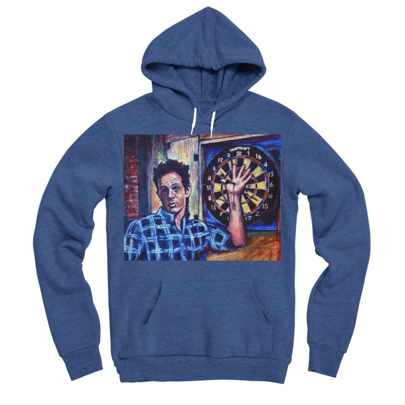 dart Women's Sponge Fleece Pullover Hoody by paintings by Seamus Wray