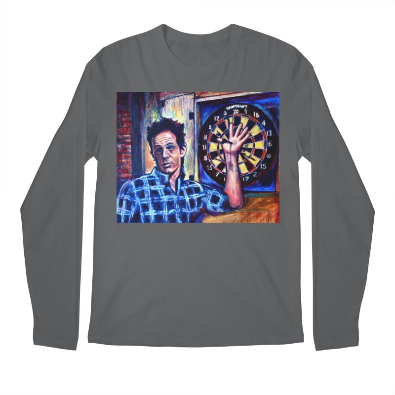 dart Men's Regular Longsleeve T-Shirt by paintings by Seamus Wray