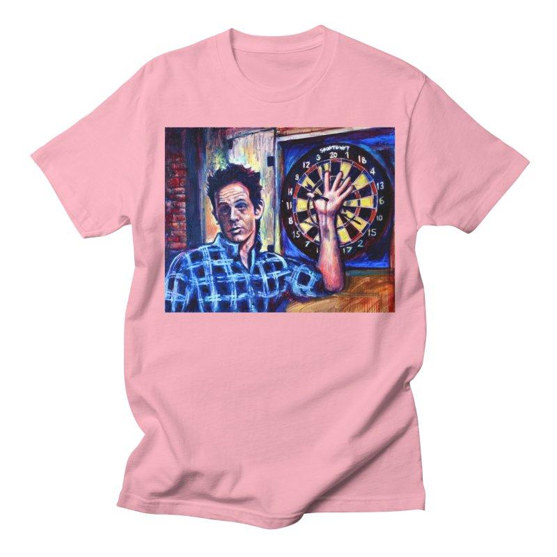 dart Men's Regular T-Shirt by paintings by Seamus Wray