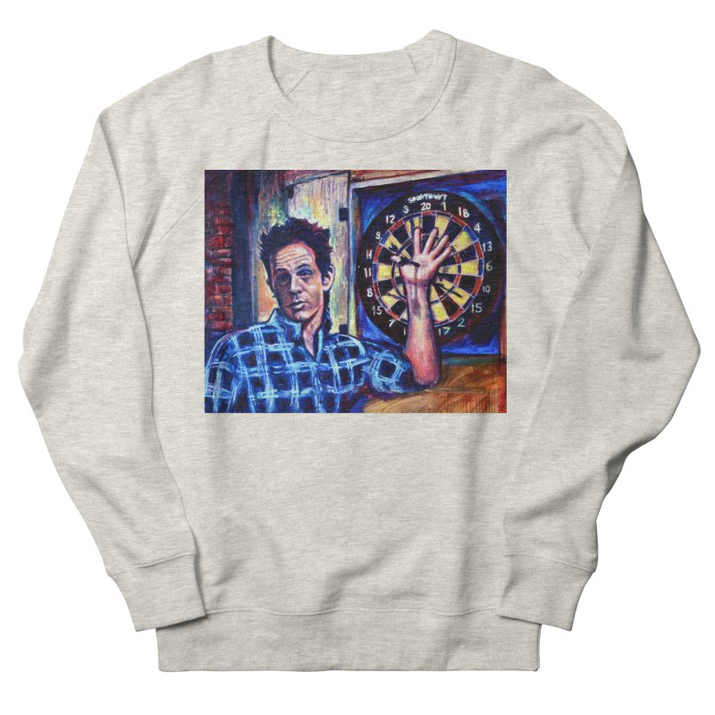 dart Women's French Terry Sweatshirt by paintings by Seamus Wray