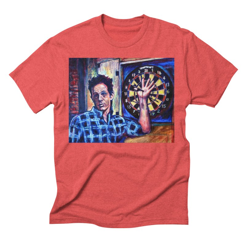 dart Men's Triblend T-Shirt by paintings by Seamus Wray