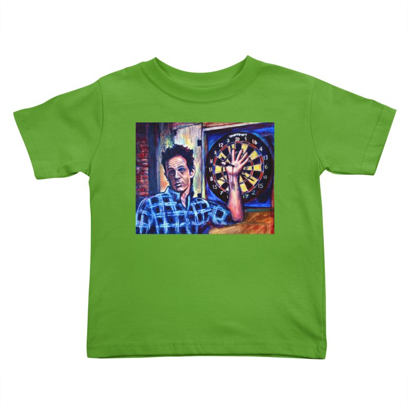 dart Kids Toddler T-Shirt by paintings by Seamus Wray