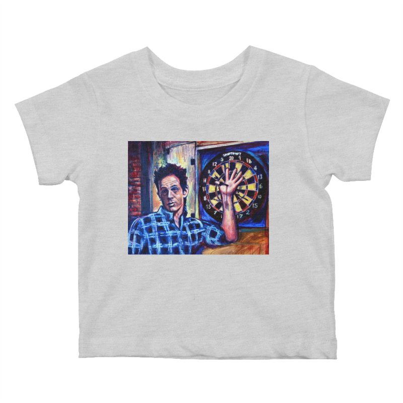 dart Kids Baby T-Shirt by paintings by Seamus Wray