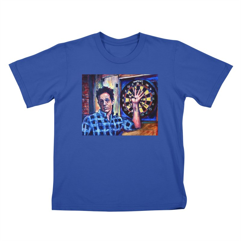 dart Kids T-Shirt by paintings by Seamus Wray