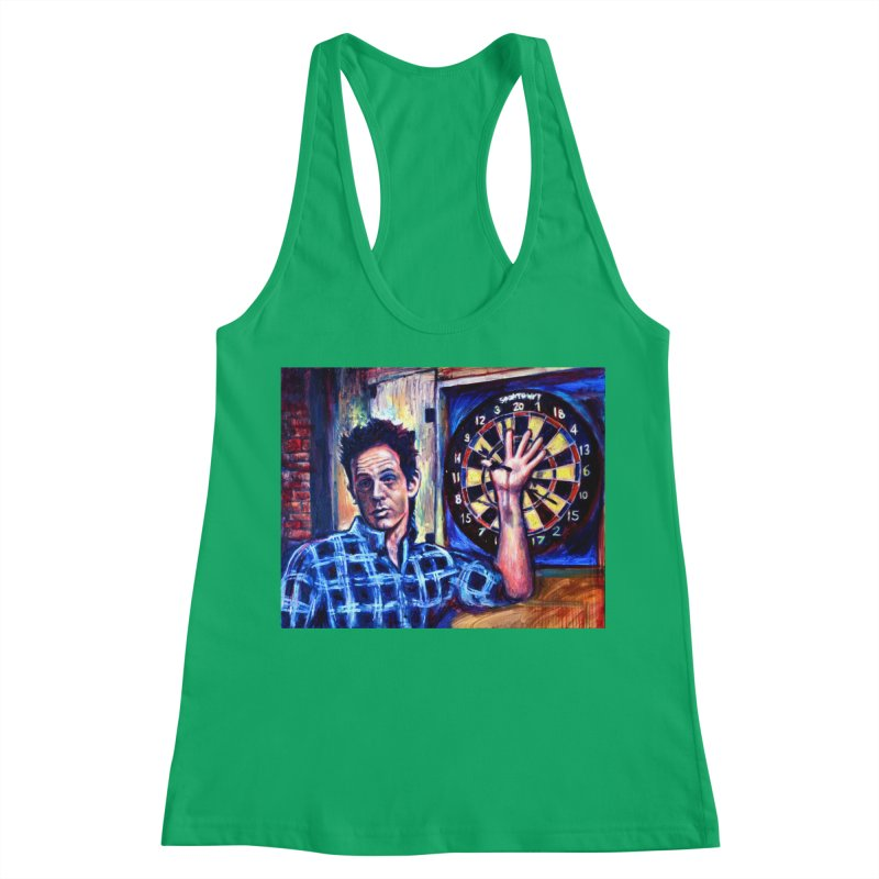 dart Women's Tank by paintings by Seamus Wray
