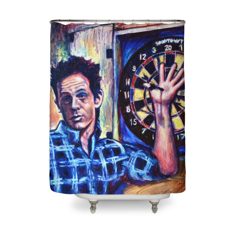 dart Home Shower Curtain by paintings by Seamus Wray