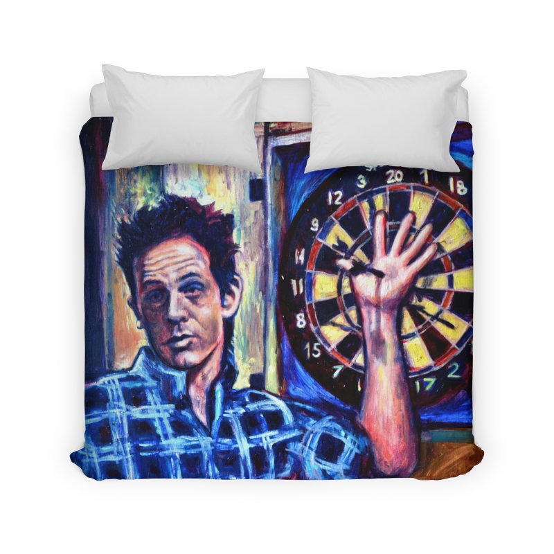 dart Home Duvet by paintings by Seamus Wray
