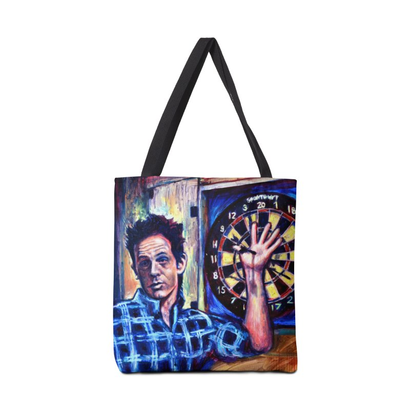 dart Accessories Tote Bag Bag by paintings by Seamus Wray