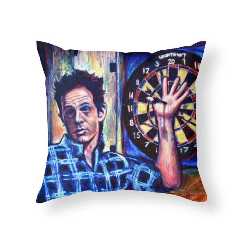 """dart Home Throw Pillow by Art Prints by Seama available under """"Home"""""""