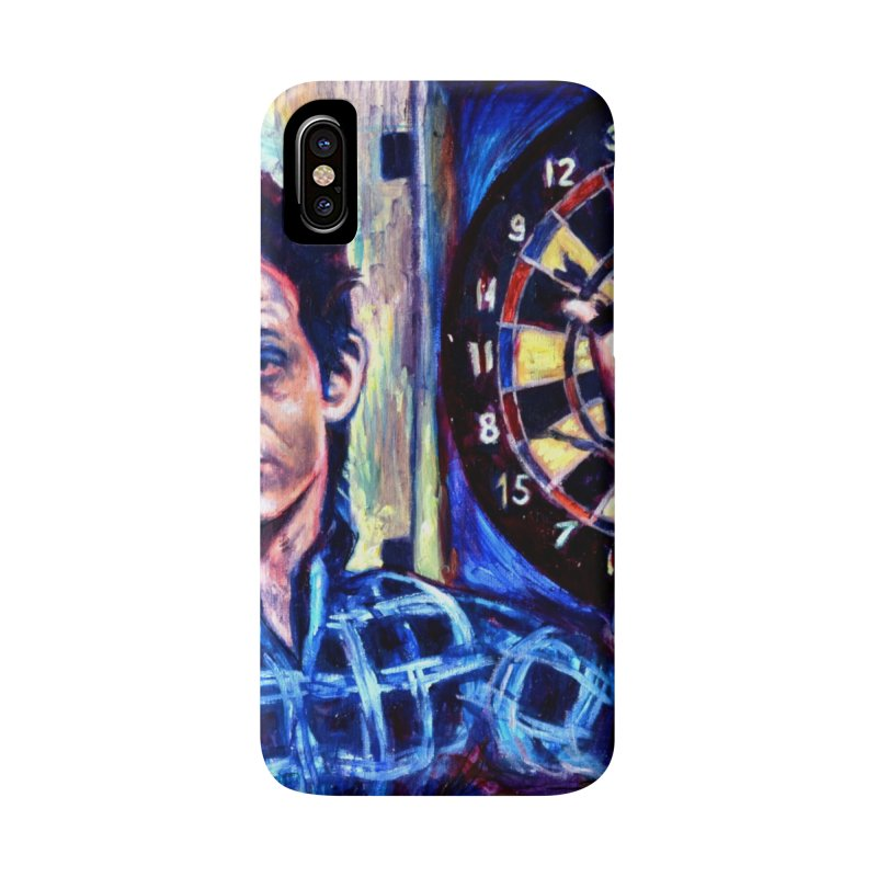 dart Accessories Phone Case by paintings by Seamus Wray