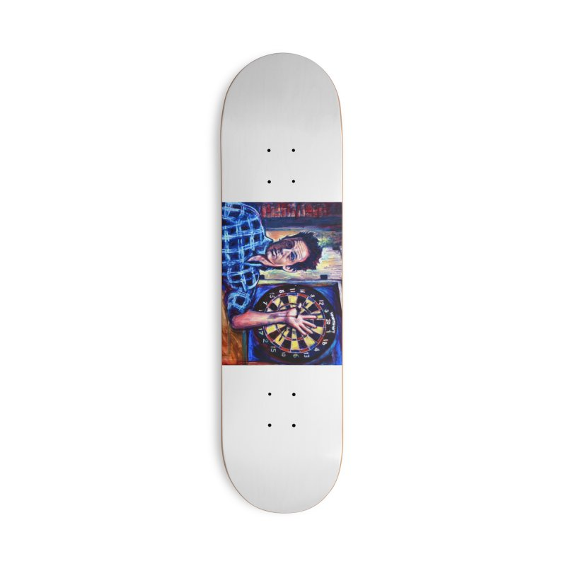 dart Accessories Deck Only Skateboard by paintings by Seamus Wray