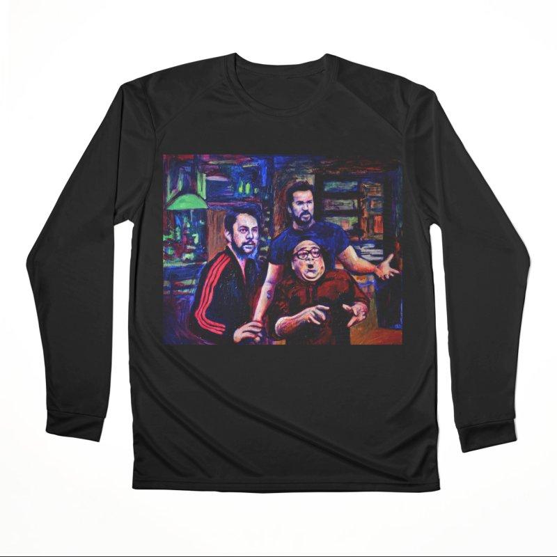 reactions Men's Performance Longsleeve T-Shirt by paintings by Seamus Wray