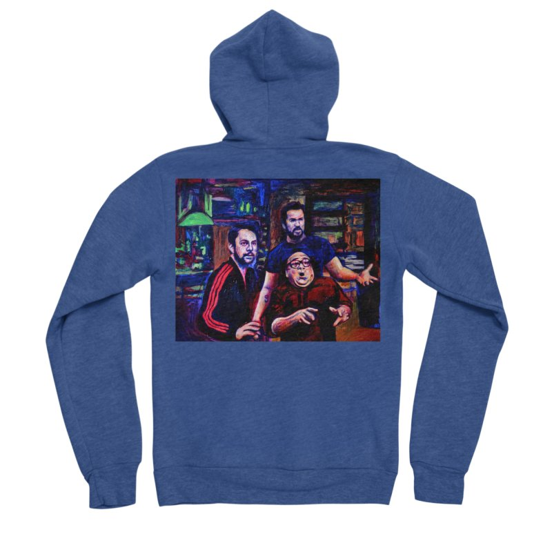 reactions Women's Sponge Fleece Zip-Up Hoody by paintings by Seamus Wray