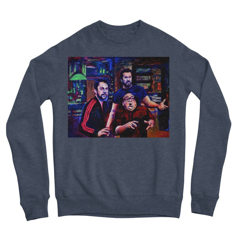 reactions Women's Sponge Fleece Sweatshirt by paintings by Seamus Wray