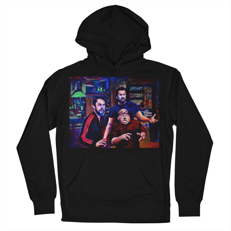 reactions Men's French Terry Pullover Hoody by paintings by Seamus Wray