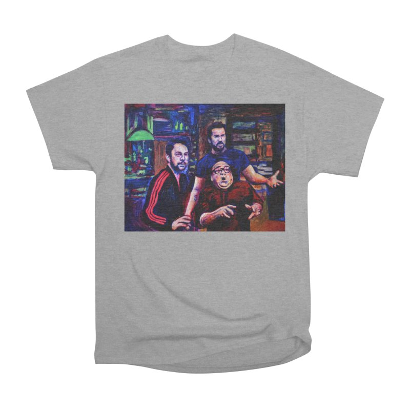 reactions Women's Heavyweight Unisex T-Shirt by paintings by Seamus Wray