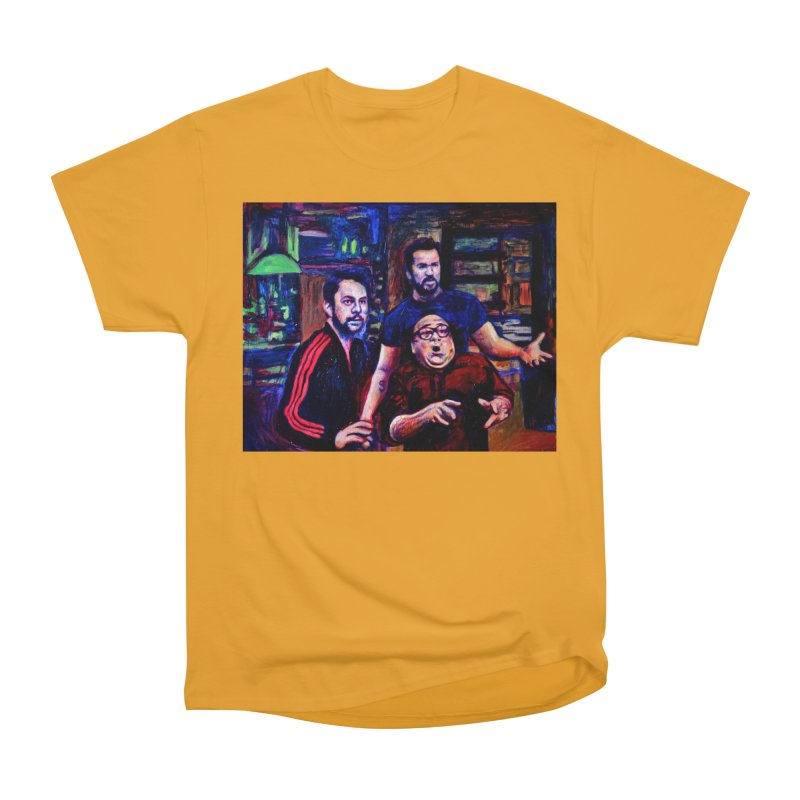 reactions Men's Heavyweight T-Shirt by paintings by Seamus Wray