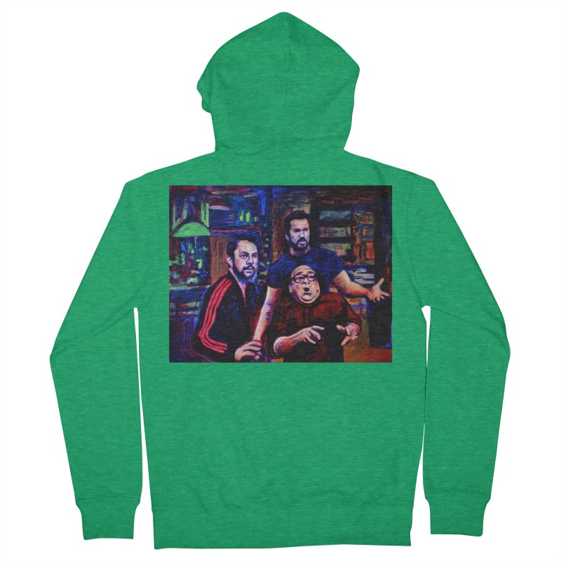 reactions Women's French Terry Zip-Up Hoody by paintings by Seamus Wray