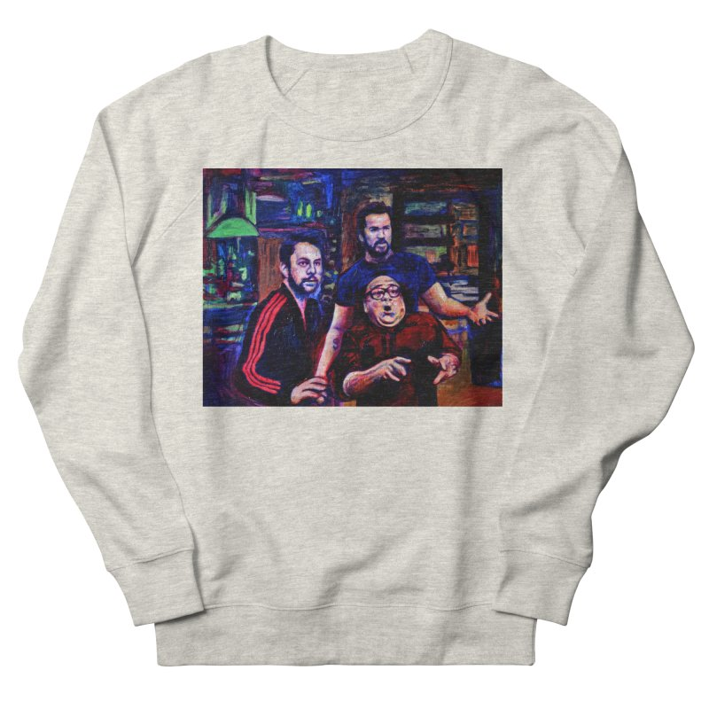 reactions Women's French Terry Sweatshirt by paintings by Seamus Wray