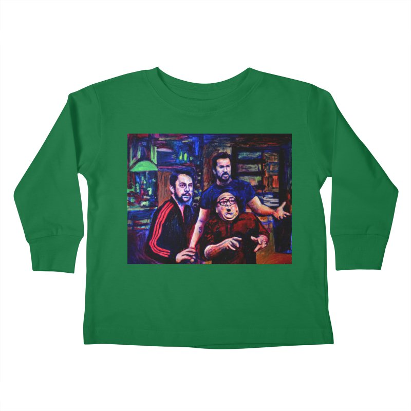 reactions Kids Toddler Longsleeve T-Shirt by paintings by Seamus Wray