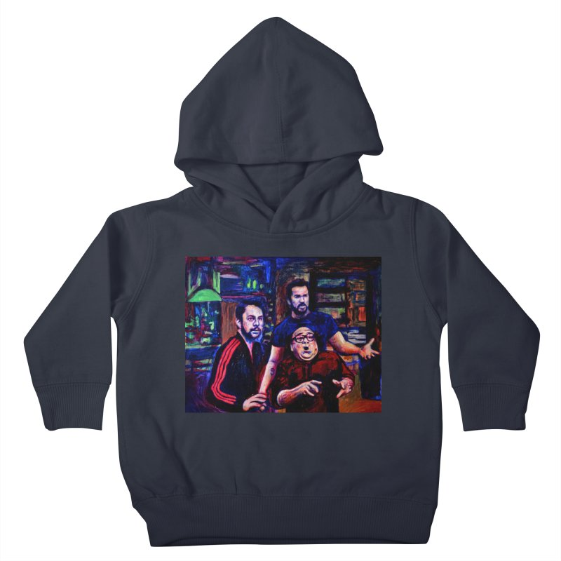 reactions Kids Toddler Pullover Hoody by paintings by Seamus Wray