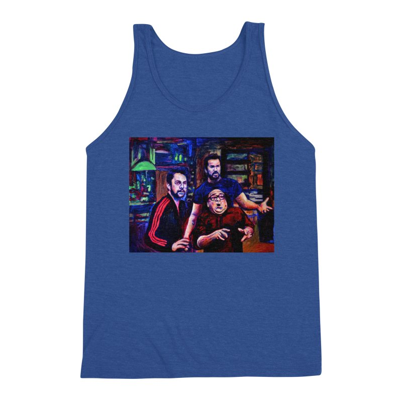 reactions Men's Tank by paintings by Seamus Wray