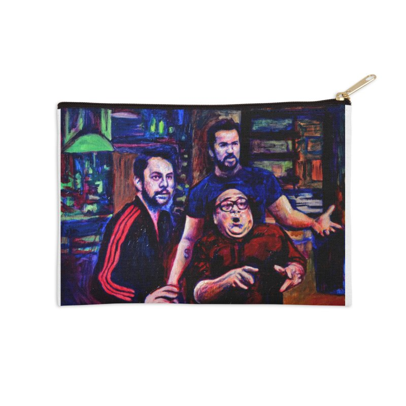 reactions Accessories Zip Pouch by paintings by Seamus Wray