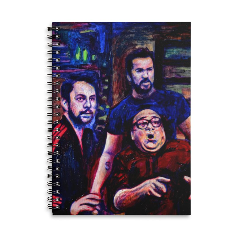"reactions Accessories Notebook by Art Prints by Seama available under ""Home"""