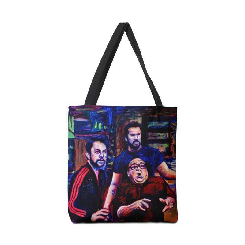 reactions Accessories Tote Bag Bag by paintings by Seamus Wray