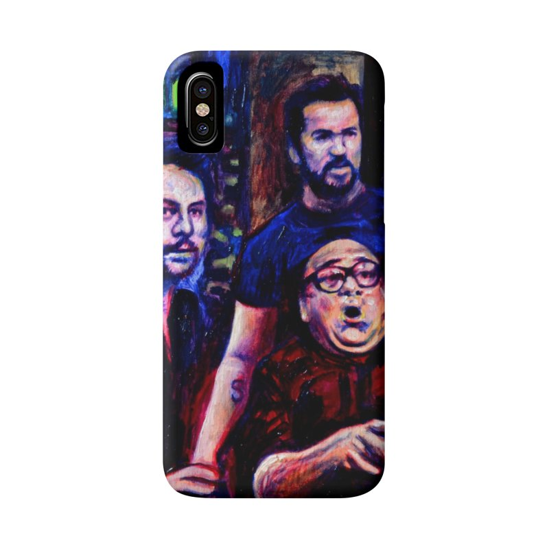 reactions Accessories Phone Case by paintings by Seamus Wray