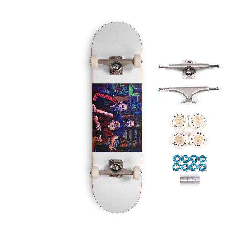 reactions Accessories Complete - Premium Skateboard by paintings by Seamus Wray