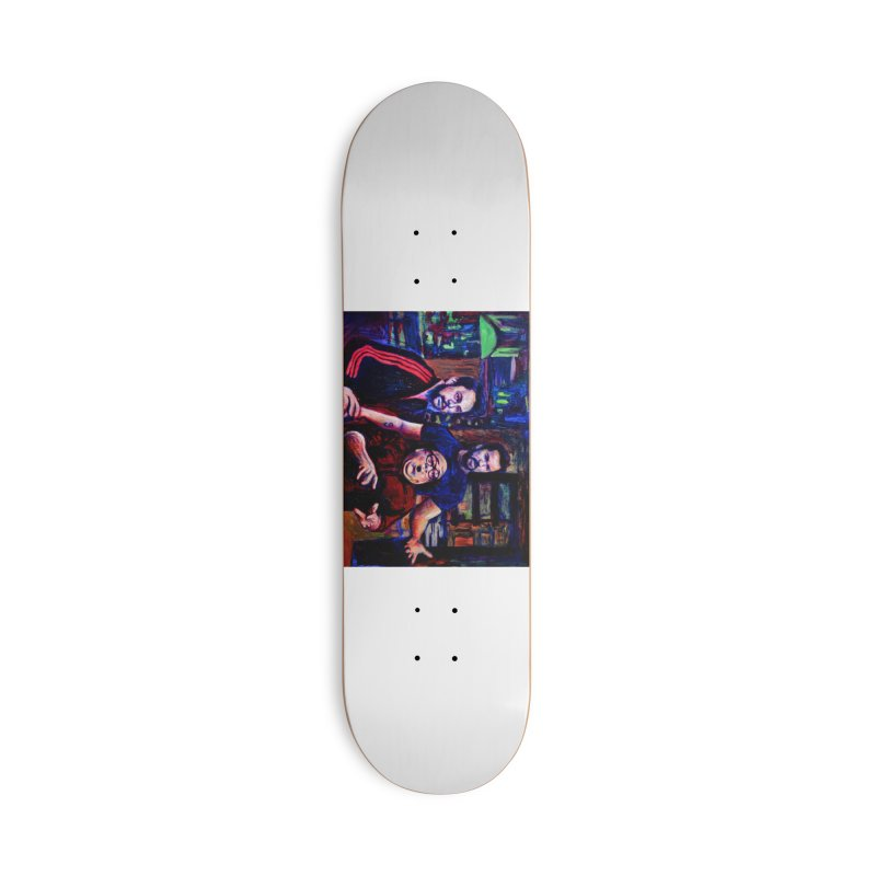 reactions Accessories Deck Only Skateboard by paintings by Seamus Wray