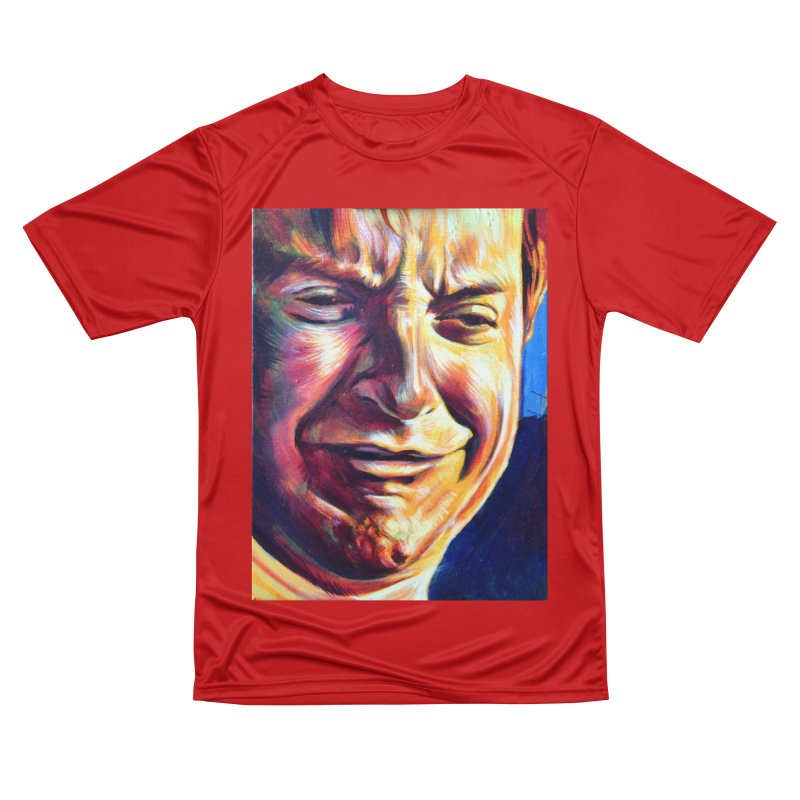 sad tobey Women's Performance Unisex T-Shirt by paintings by Seamus Wray