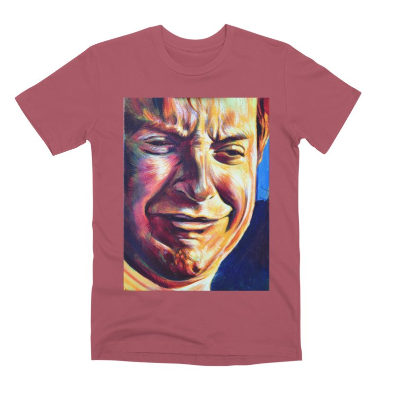 sad tobey Men's Premium T-Shirt by paintings by Seamus Wray