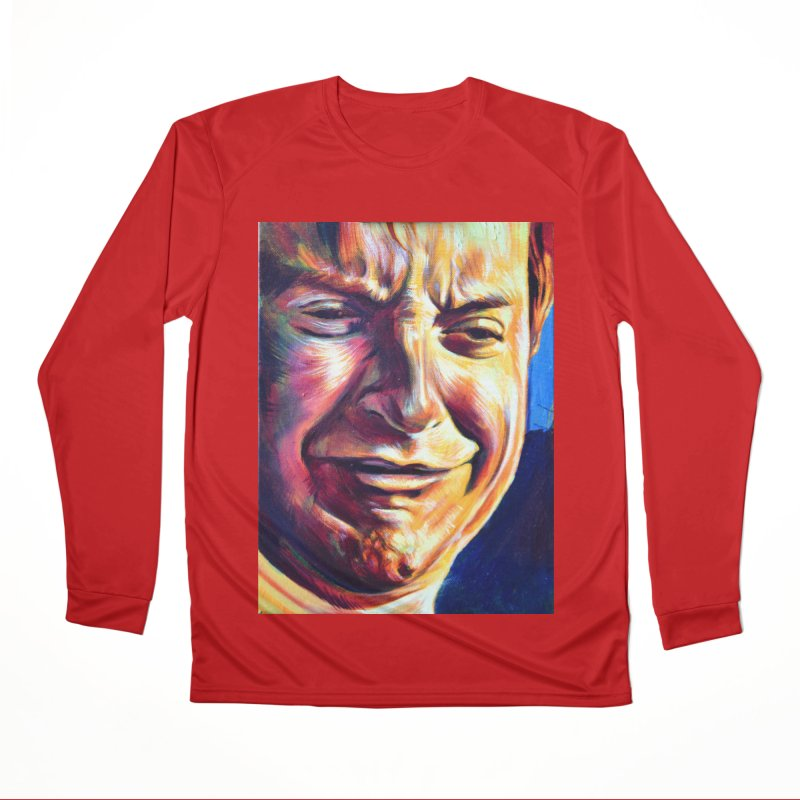 sad tobey Women's Performance Unisex Longsleeve T-Shirt by paintings by Seamus Wray