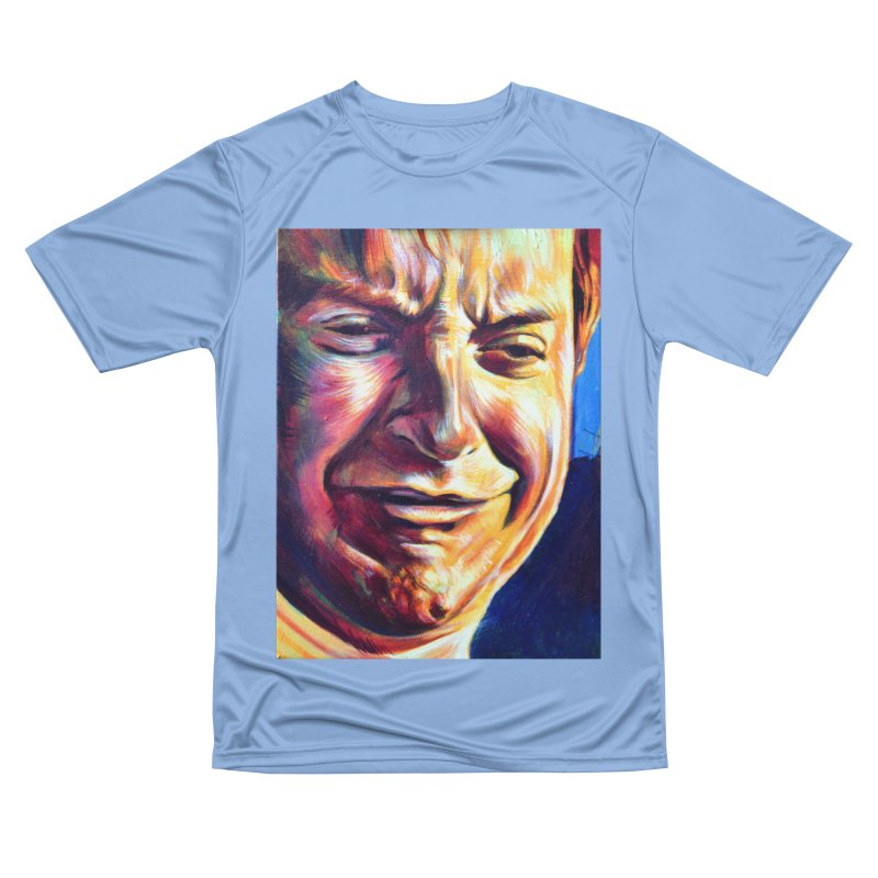 sad tobey Men's Performance T-Shirt by paintings by Seamus Wray