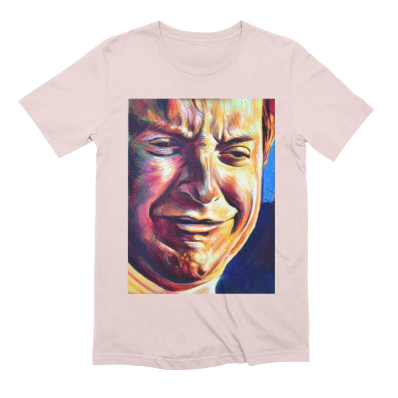 sad tobey Men's Extra Soft T-Shirt by paintings by Seamus Wray
