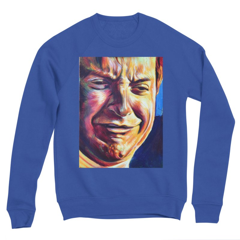 sad tobey Men's Sponge Fleece Sweatshirt by paintings by Seamus Wray