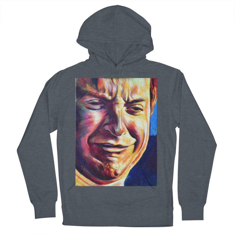 sad tobey Women's French Terry Pullover Hoody by paintings by Seamus Wray