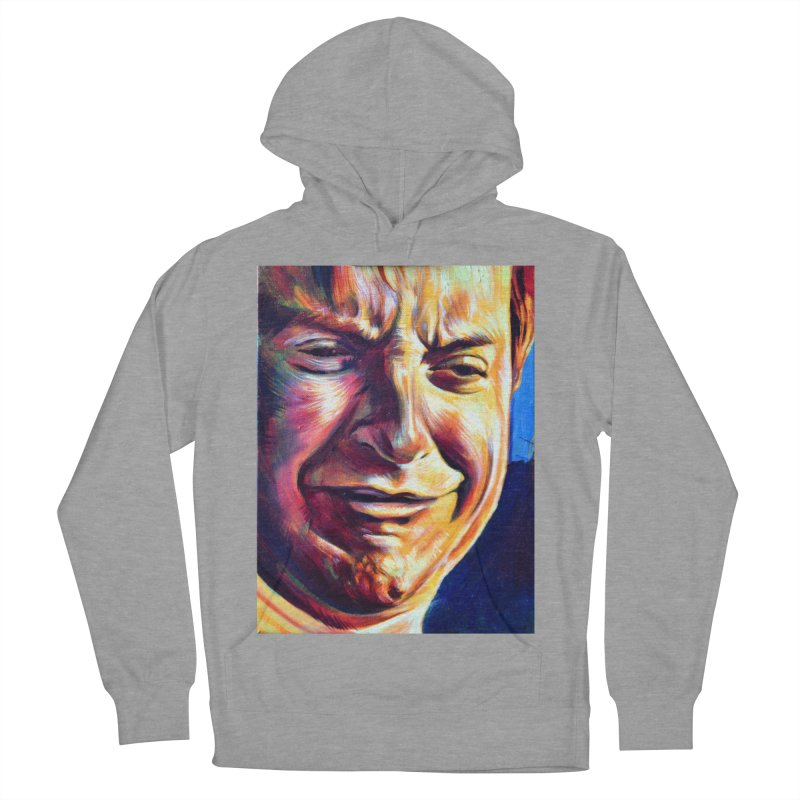 sad tobey Women's Pullover Hoody by paintings by Seamus Wray