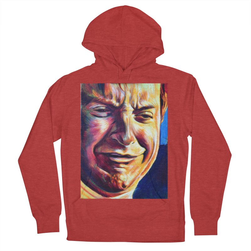 sad tobey Men's French Terry Pullover Hoody by paintings by Seamus Wray