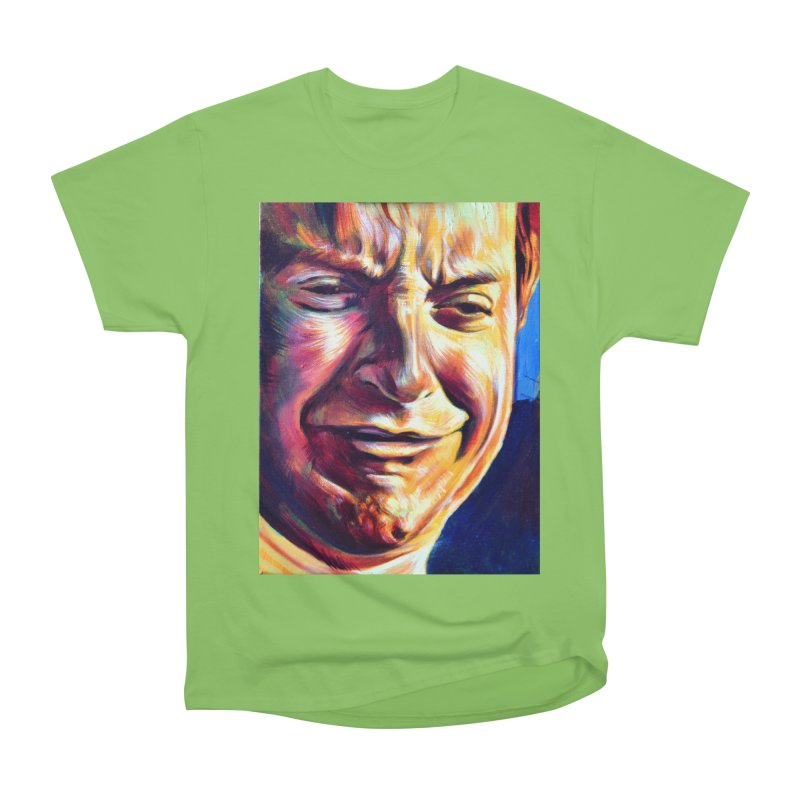 sad tobey Women's Heavyweight Unisex T-Shirt by paintings by Seamus Wray
