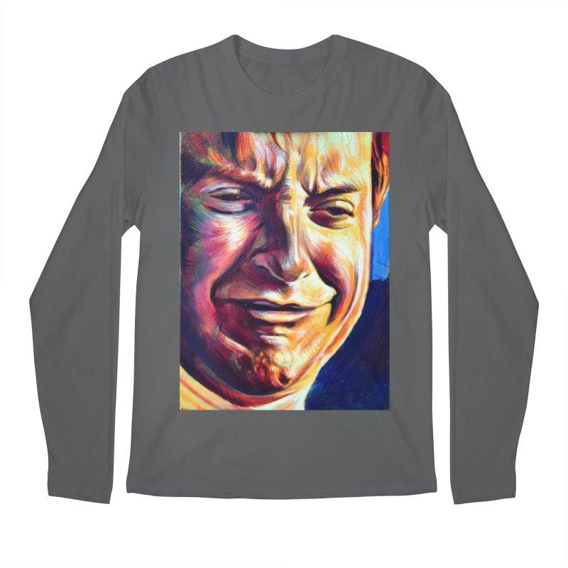sad tobey Men's Longsleeve T-Shirt by paintings by Seamus Wray