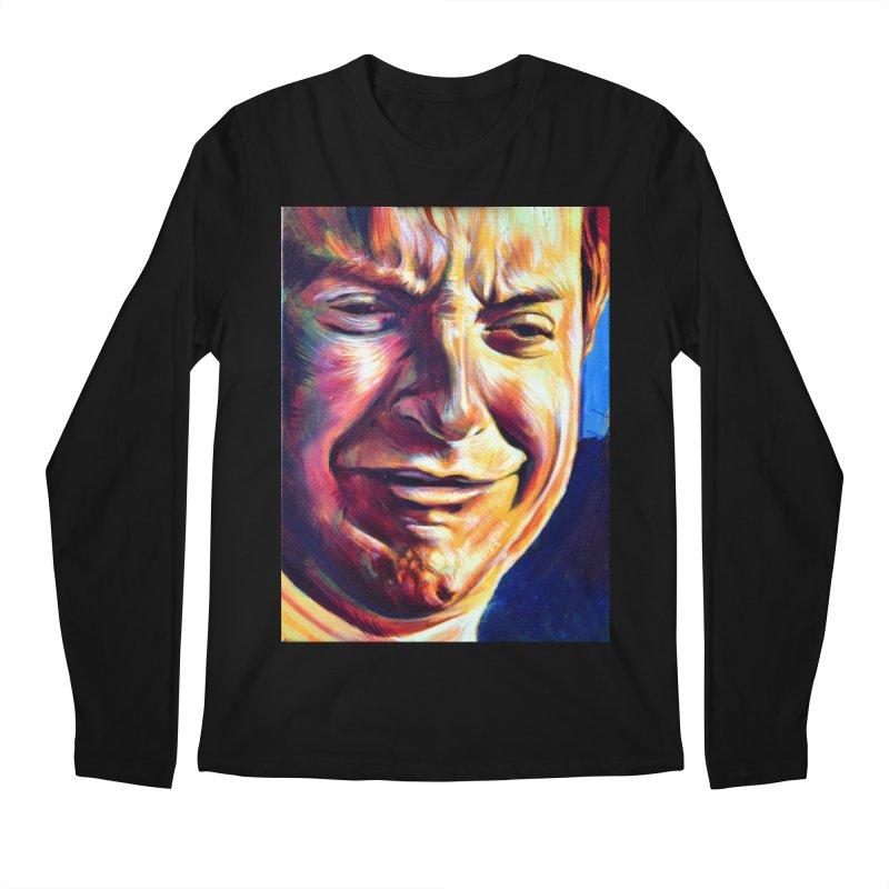 sad tobey Men's Regular Longsleeve T-Shirt by paintings by Seamus Wray