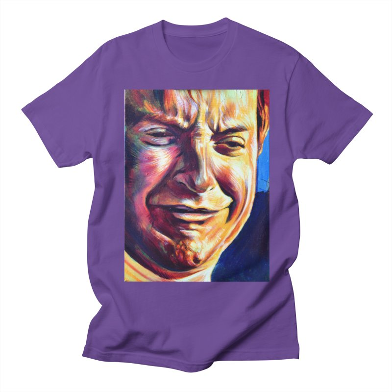 sad tobey Women's Regular Unisex T-Shirt by paintings by Seamus Wray