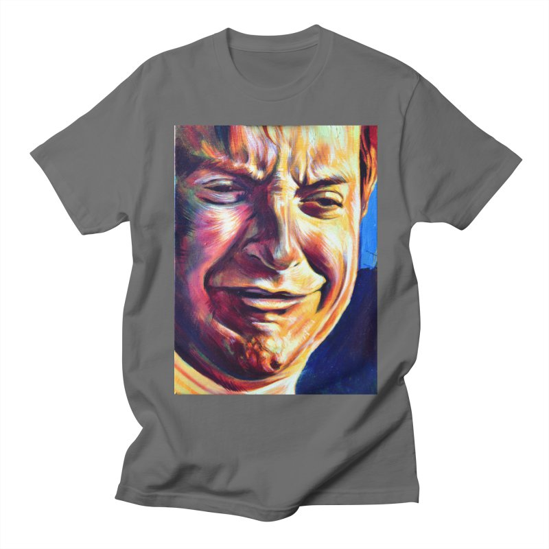 sad tobey Men's T-Shirt by paintings by Seamus Wray