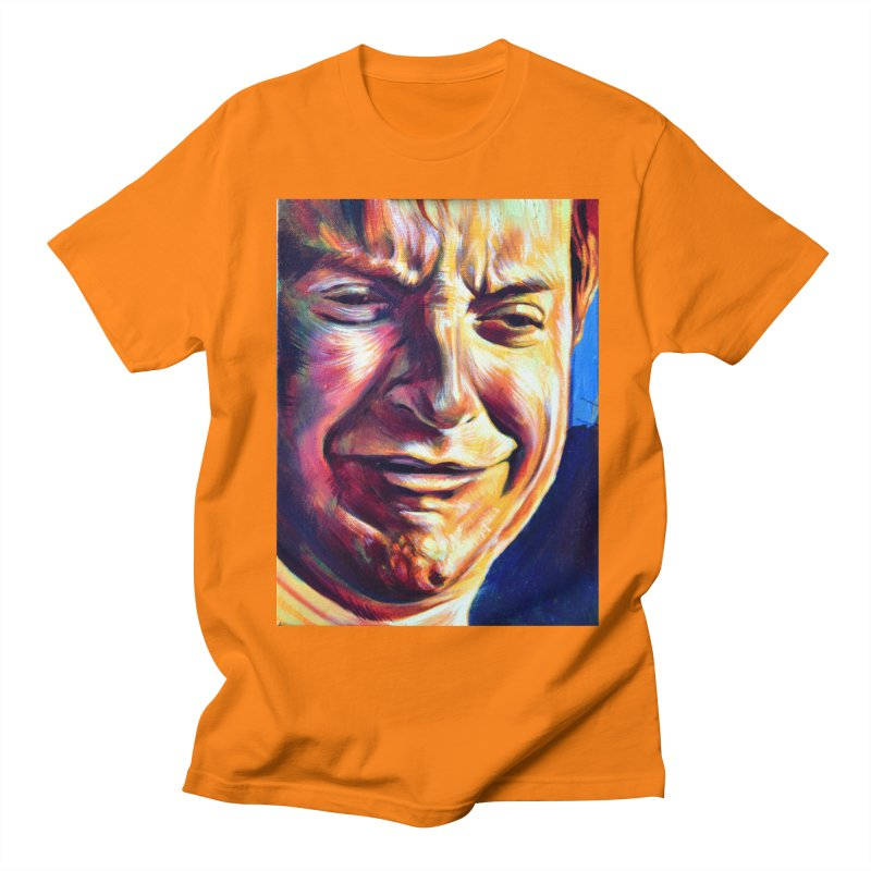 sad tobey Men's Regular T-Shirt by paintings by Seamus Wray