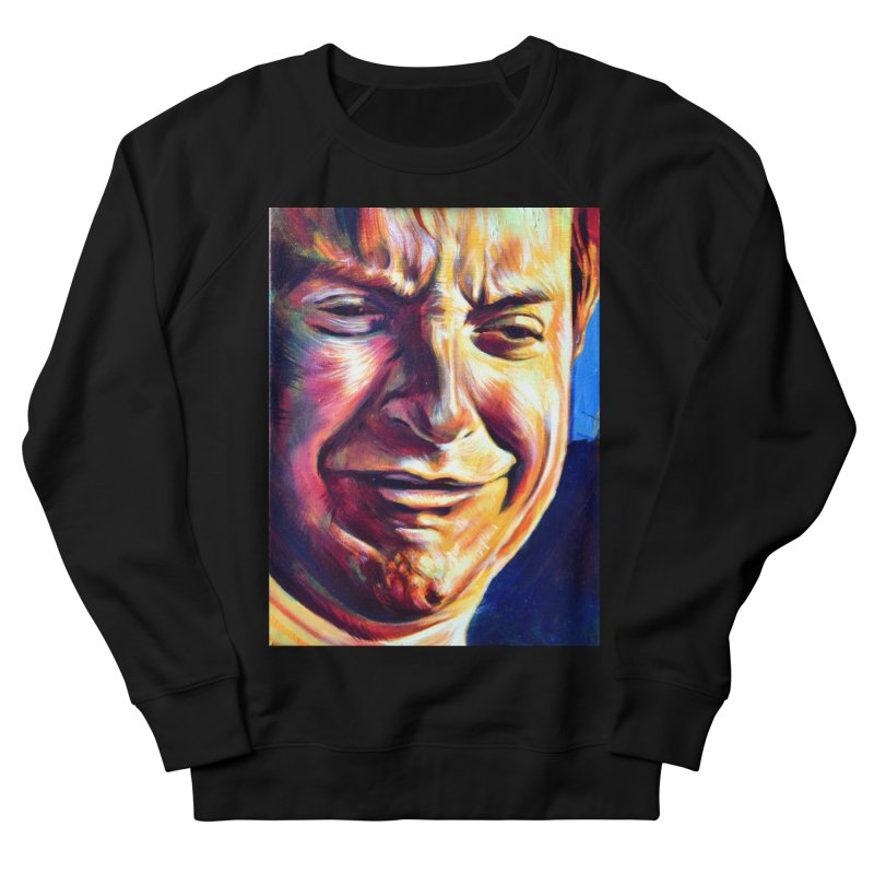 sad tobey Women's French Terry Sweatshirt by paintings by Seamus Wray