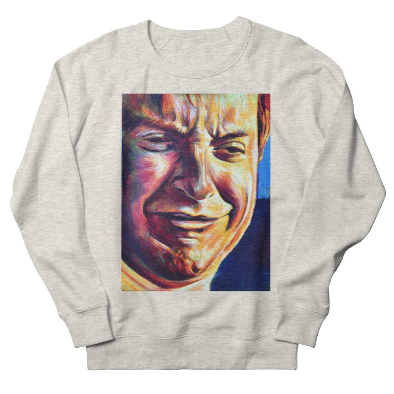 sad tobey Men's French Terry Sweatshirt by paintings by Seamus Wray